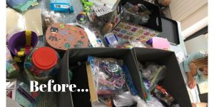 Toy decluttering and organisation tips